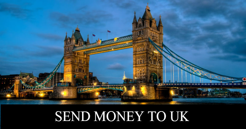 Send Money To UK | Money Transfer Online From Canada to UK